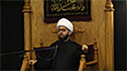'Becoming a Companion of Imam Al Mahdi' (Part 3) Muharram 2019, recited by HIWM Sheikh Mustafa Akhound